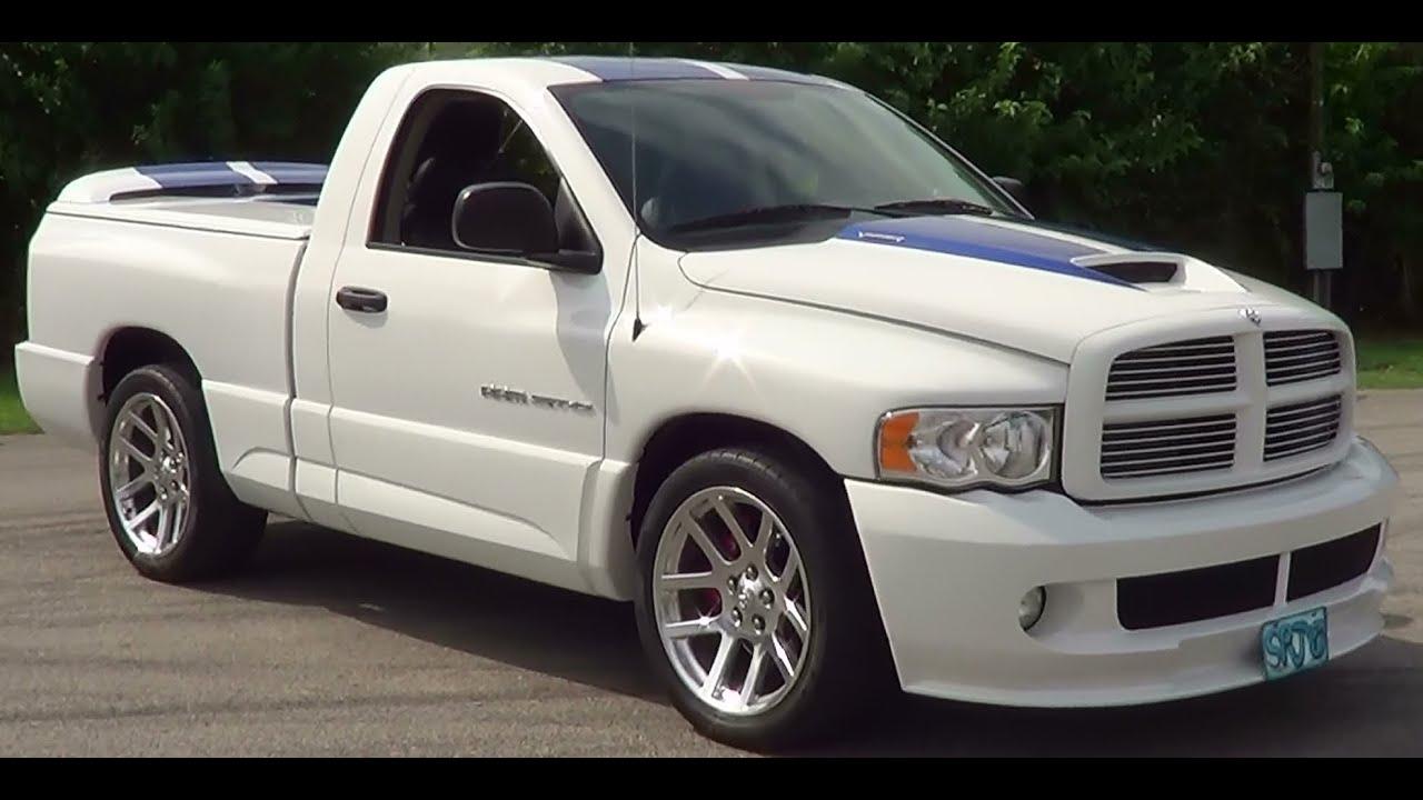 dodge srt  supercharged viper truck youtube