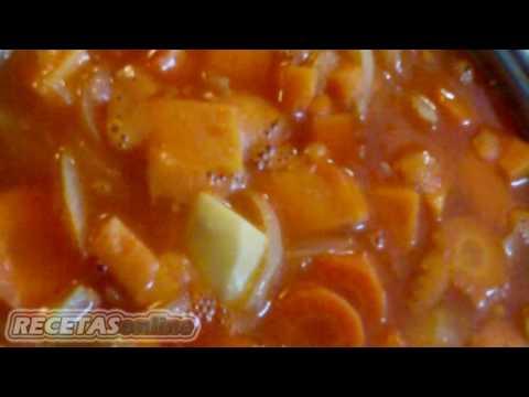 Crema de calabaza - Recetas de cocina RECETASonline