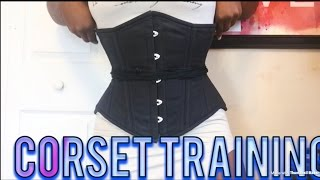 GLAMOROUS CORSET REVIEW | CORSET TRAINING