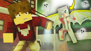 THERE IS A GHOST! - Parkside EP3 Season 6 (Minecraft Roleplay)