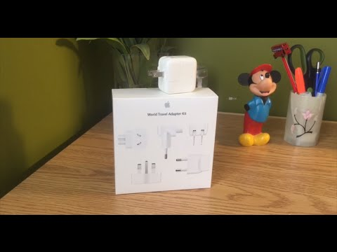 Unboxing And Overview -- Apple World Travel Adapter Kit!