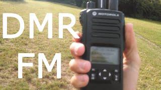 DMR vs FM testing UHF and VHF