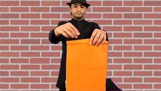 تعلم العاب الخفة # 236 ( حيلة الورق من الفم ) free magic trick