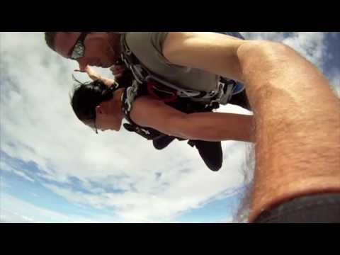 Near Death Airplane Collision With Skydiver In Free Fall video