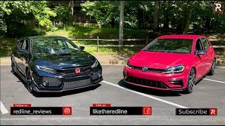 The Civic Type R & VW Golf R Are Two Very Different Hot Hatch Perspectives
