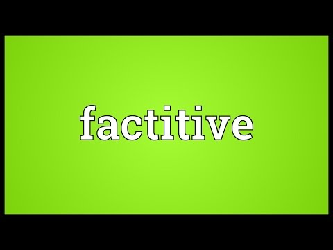 Header of factitive