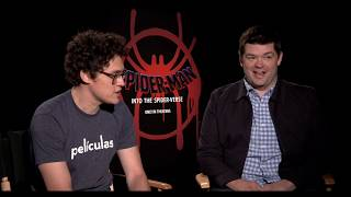 SPIDER MAN Into The Spider Verse: Chris Miller - Producer & Phil Lord - Co Writer/ Producer