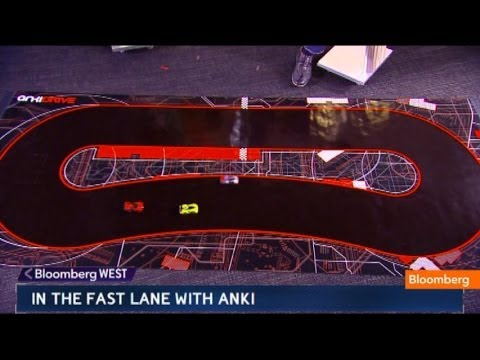 Move Over, Hot Wheels! Anki Drive s Cars Are Here