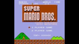 [게임영상] [ゲームプレイ] Super Mario Bros. (スーパーマリオブラザーズ) Sega Genesis Ver. - WORLD 1-1 ~ WORLD -1 : Gameplay