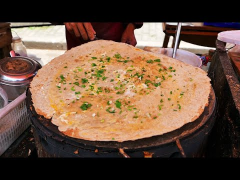 Beijing Jianbing (北京煎饼) China Street Food Breakfast Sandwich Crepe