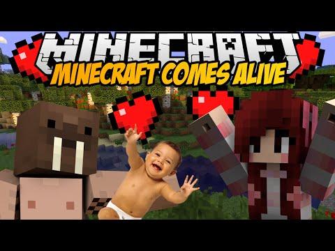 Minecraft mody DZIECI RODZINA SEX MINECRAFT COMES ALIVE