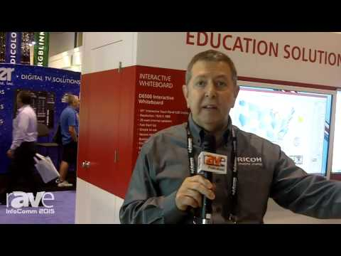 InfoComm 2015: Ricoh Showcases Portable Digital Signage System