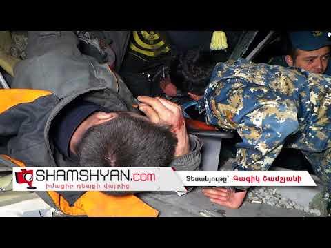 Ողբերգական ավտովթար Երևանում. 26-ամյա վարորդը Scania բեռնատարով բախվել է բետոնե պարսպին