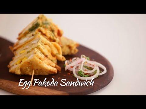 How To Make Egg Pakoda Sandwich || Archana's Rasoi