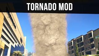 TORNADO MOD (Complete Chaos!) | GTA 5 PC Mods