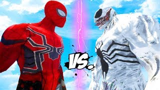 IRON SPIDER-MAN VS ANTI-VENOM - EPIC BATTLE