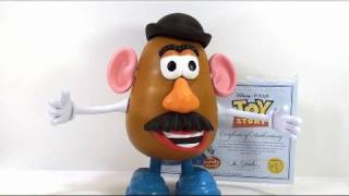 Video review of the Toy Story Collection Series; Mr. Potatohead