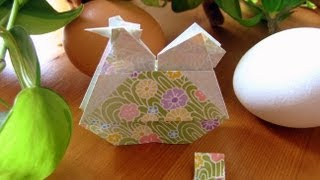 Origami ✿ Egg - Laying Hen ✿