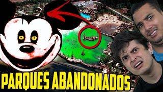 CONHEÇA os macabros PARQUES ABANDONADOS DA DISNEY !