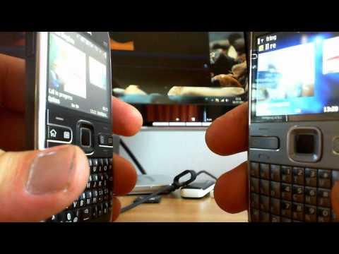 Free video calling on Nokia E72