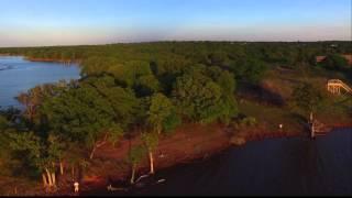 Lake Arcadia - Edmond, Oklahoma drone footage