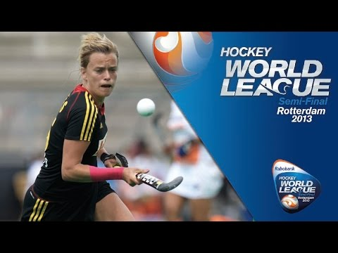 India vs Belgium Women's Hockey World League Rotterdam  Pool A [14/06/13]