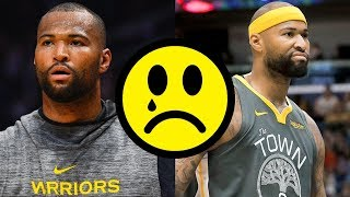Demarcus Cousins Tears His ACL And Now We're All Sad - What's Next For Boogie?