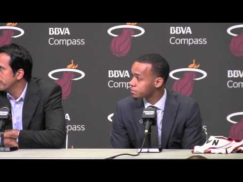 Miami Heat welcomes Shabazz Napier