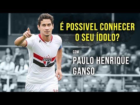 É possivel conhecer seu ídolo? com: Paulo Henrique Ganso