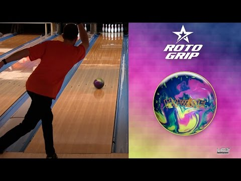 Roto Grip Hy-Wire Bowling Ball by Scott Widmer, BuddiesProShop.com