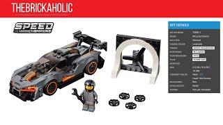 Lego Speed build: McLaren Senna 75892 🏎