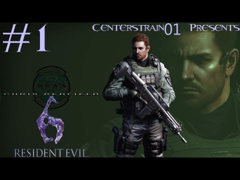 Resident Evil 6 - Walkthrough - Chris Redfield - Part 1 - Solo