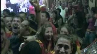 Gol Iniesta final del mundial bar k´tito vallekas