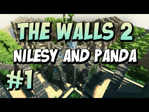 Minecraft: The Walls: Nilesy & Panda: #1!
