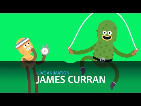 Live Animation with James Curran - DAY 2/3