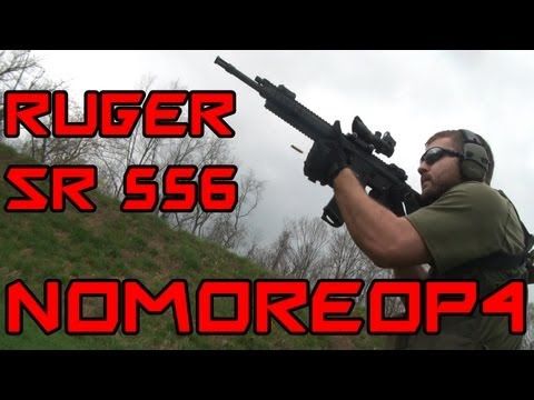 Ruger SR 556 Review - In The Field and Range Report