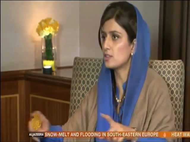 Hina Rabbani Khar - U.S and Pakistan relations