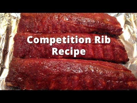 Competition Rib Recipe - HowToBBQRight Baby Back Rib Method