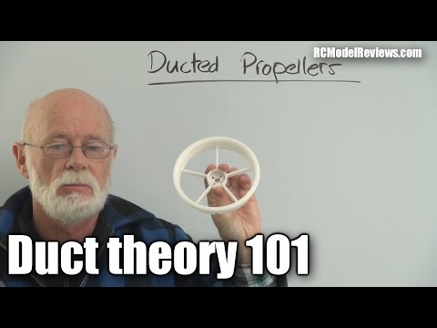 How ducting a propeller increases efficiency and thrust