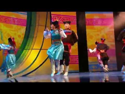 Концерт к 55-летию РУДН. Бурятский народный танец «Ёхор»