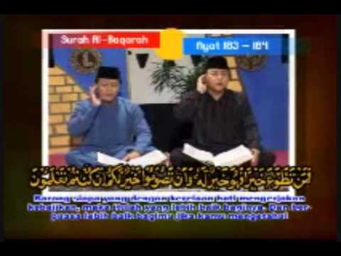 Shiekh Muammar Za & Shiekh Chumaidi - Surah 'al Baqarah' Verse 183 - 184 [part 1] video