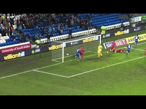 Highlights: Cardiff  City 1 Blackburn Rovers 0
