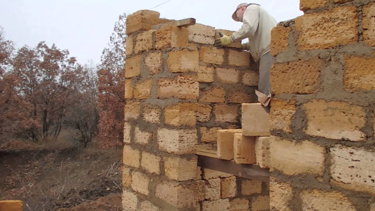 Как построить дом из ракушки своими руками