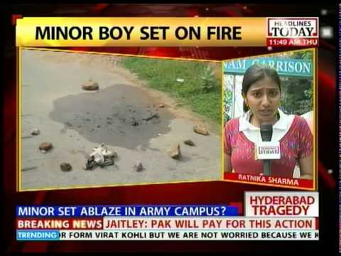 Investigations on into Hyderabad boy burning case