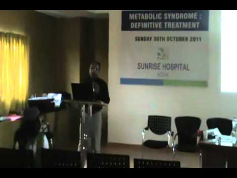 Health lecture: Dr Rajeev Jayadevan: (English) Diabetes, Hypertension, Heart disease, Obesity