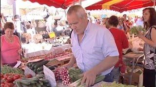 Saint-Tropez, le jackpot des marchés de Provence