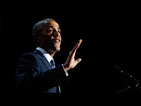 President Obama Ends Farewell Speech With 'Yes We Can'