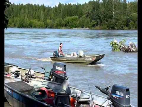 Fireweed lodge at lake creek alaska 2011 youtube for Alaska out of state fishing license