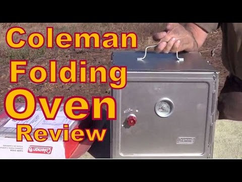 Review of the Coleman Folding Oven: It Works Great!