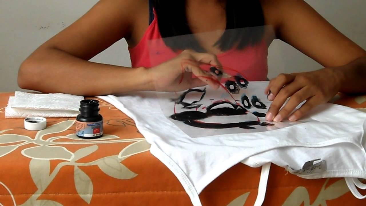 Como estampar en casa youtube - Estampar camisetas en casa ...